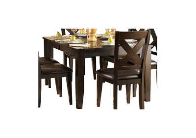 Image for Crown Point Merlot Dining Table