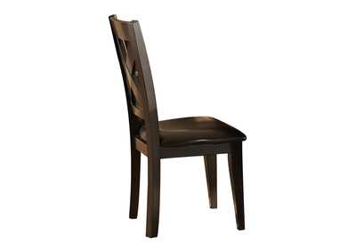 Image for Crown Point Merlot Side Chair [Set of 2]