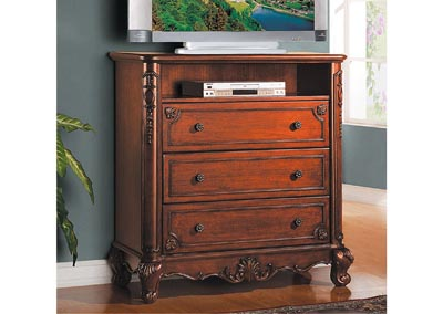 Madaleine Warm Cherry TV Chest