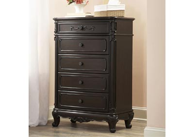 Cinderella Dark Cherry Drawer Chest