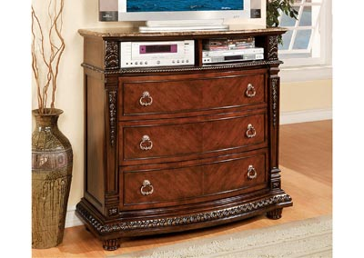 Image for Palace Rich Brown TV Chest
