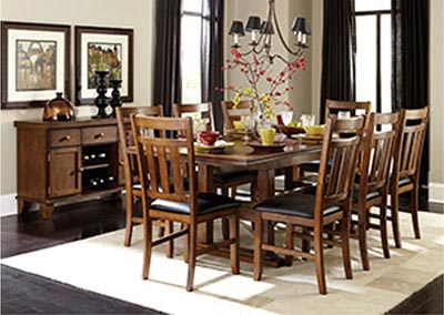 Kirtland Warm Oak Side Chair