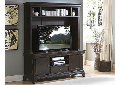 Dark Cherry Entertainment Unit Top