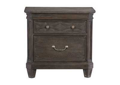 Image for Sandpoint Grey Oak Night Stand