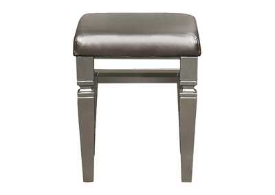 Image for Tamsin Silver Vanity Stool
