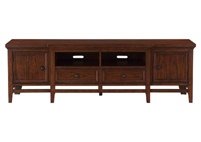 Image for Frazier Park Brown Cherry 81 TV Stand