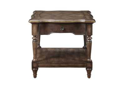 Heath Court Brown End Table