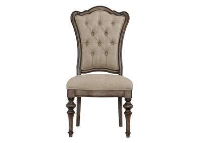 Heath Court Grey Brown Side Chair [Set of 2]