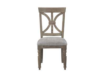 Image for Cardano Brown Driftwood Side Chair [Set of 2]