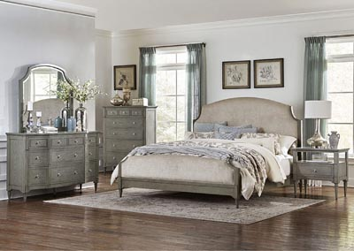 California King Bed, Fabric