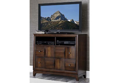 Porter Warm Walnut TV Chest