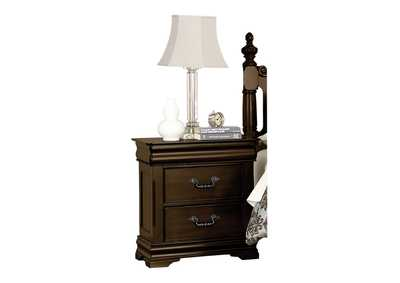 Image for Mont Belvieu Brown Night Stand W/ Hidden Drawer