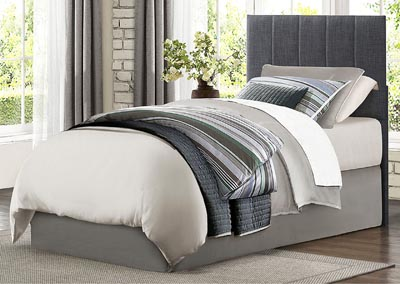 Potrero Gray Twin Headboard