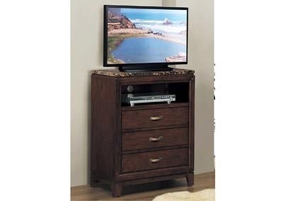 Image for Ottawa Brown Cherry TV Chest