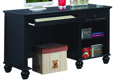 Sanibel Black Writing Desk