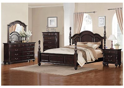 Townsford California King Poster Bed