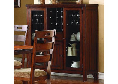 Image for Clayton Dark Oak Curio