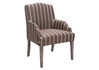 Euro Fabric Arm Chair (Set of 2)