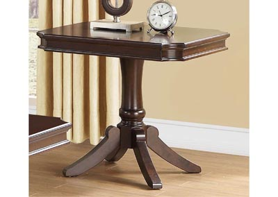 Marston Dark Cherry Rectangle End Table
