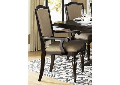Marston Neutral Fabric Arm Chair (Set of 2)