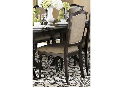 Marston Neutral Fabric Side Chair (Set of 2)