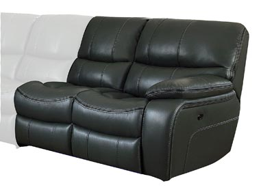 Pecos Grey Right Side Reclining Love Seat
