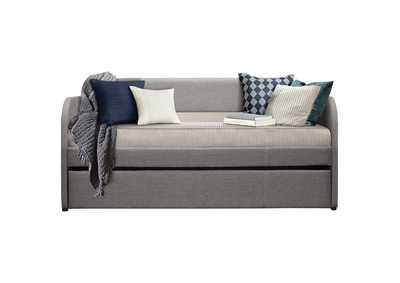 Image for Roland Grey Daybed W/ Trundle