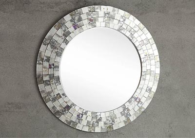"Image for Reflective 42"" Wall Mirror"