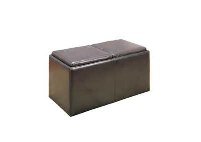Image for Claire Dark Brown Storage Bench