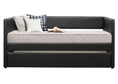 Image for Adra Black Daybed W/ Trundle