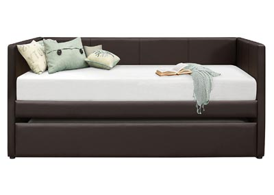 Image for Adra Brown Daybed W/ Trundle