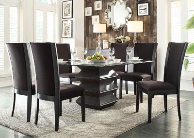 Havre 5 Piece Dining Table Set w/4 Side Chairs