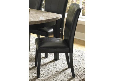 Cristo Dark Espresso Side Chair (Set of 2)