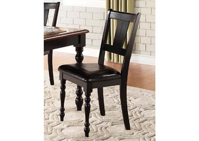 Laurel Grove Black/Cherry Side Chair
