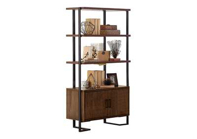Image for Sedley Walnut Bookcase