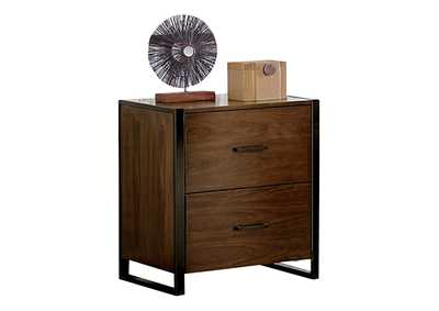 Image for Sedley Walnut File Cabinet