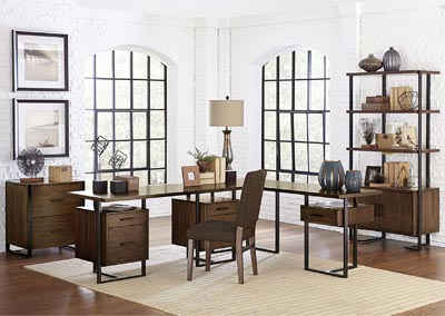 Image for Writing Desk w/2 Cabinets