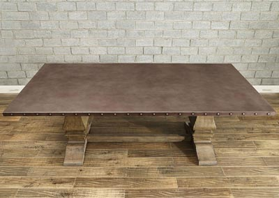 zinc top dining table weathered oak dining table zinc top cohens furniture new castle de