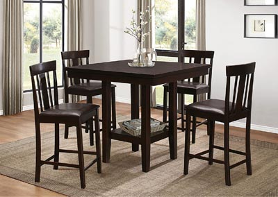 Counter Table w/4 Chairs