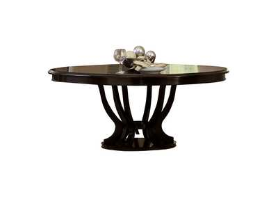 Image for Savion  Espresso Round/Oval Dining Table