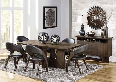 Dining Table w/4 Arm Chairs