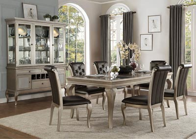 Dining Table w/6 Side Chairs