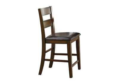 Image for Mantello Brown Counter Height Chair [Set of 2]