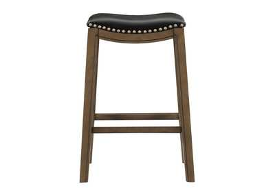 Image for Ordway Black 29 Pub Height Stool, Black