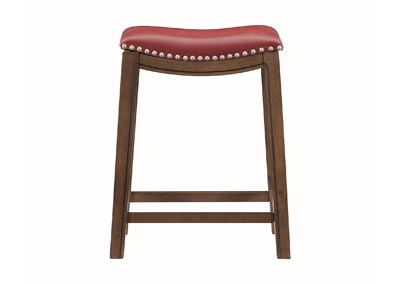 Image for Ordway Red 24 Counter Height Stool, Red