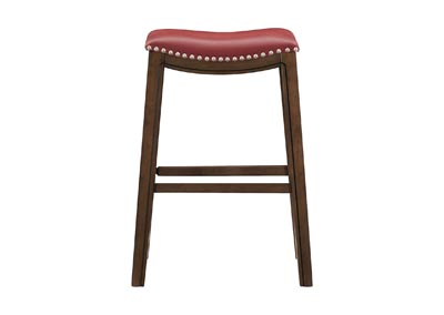 Image for Ordway Red 29 Pub Height Stool, Red