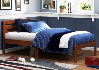 Bar Cherry Twin Platform Bed
