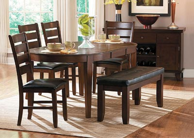 Ameillia Oval Extension Dining Table