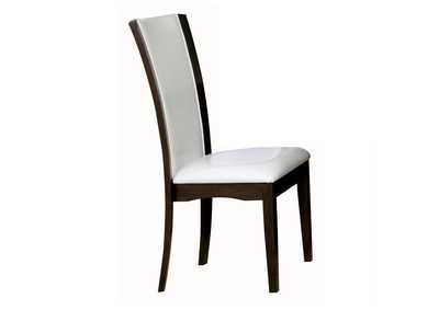 Daisy White Side Chair [Set of 2]