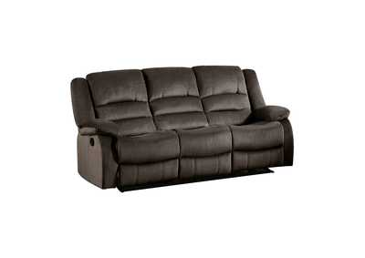 Image for Jarita  Chocolate Double Reclining Sofa